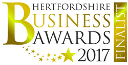 Hertford Business Awards finalist in 2017