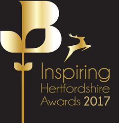 Inspiring Hertfordshire Awards winner in 2017