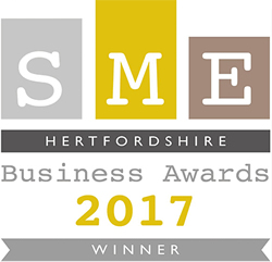 Hertfordshire SME Awards winner in 2017