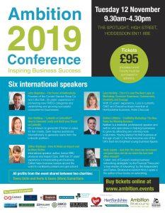 Ambition Conference Hoddesdon 2019
