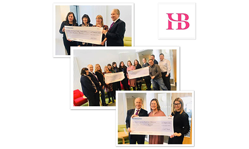 HB Accountants Ambition cheque presentation