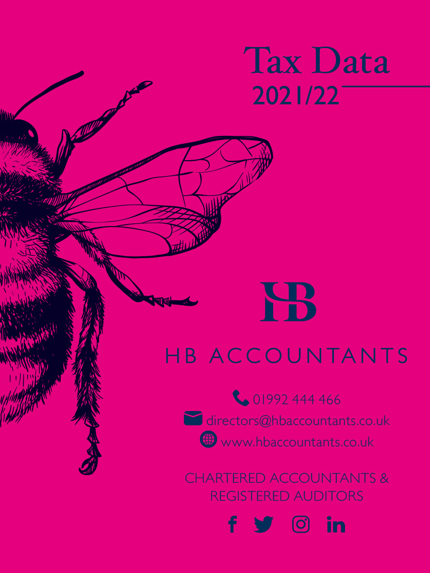 UK Tax Rates for 2021/2022 - HB Accountants